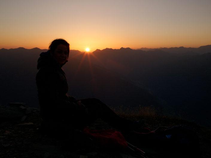 Serles Sonnenaufgang August 2017