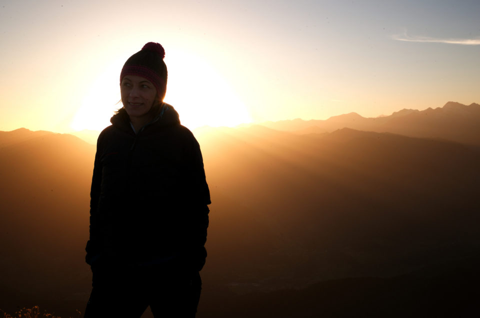 Serles Sonnenaufgang