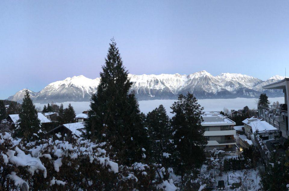 Wintereinbruch in Aldrans